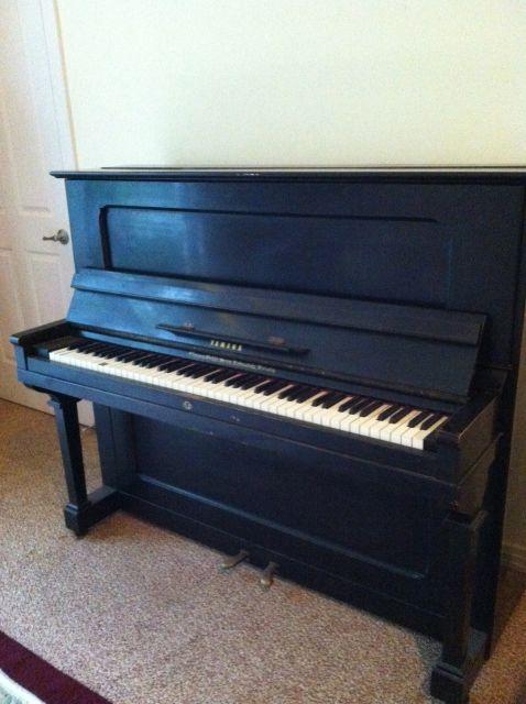 Piano Profile: Vintage Yamaha Upright