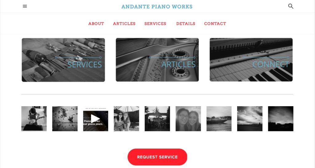 Andante Piano Works v2.0